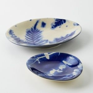 Set of 2 Herb Trinket Dish